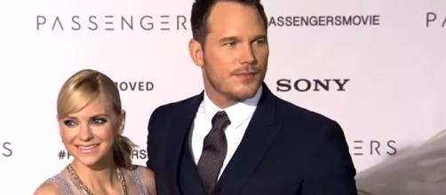 """Anna Faris and Chris Pratt announced in August that they were """"legally separating."""" [Image credit: Entertainment Tonight/YouTube]"""