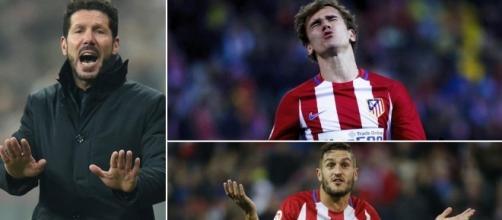 Atlético, en su peor crisis desde la llegada de Simeone