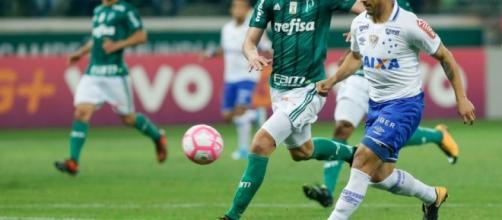Brasileirão: Palmeiras empata com Cruzeiro e perde chance de encostar no Corinthians