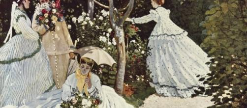 """Clllaude Monet's """"Women in the Garden"""" Wikipedia"""