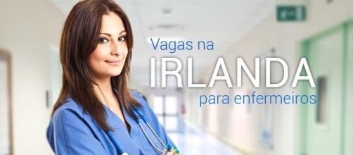 Irlanda está contratando enfermeiros com diversas especializações