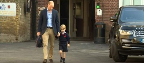 ISIS has threatened Prince George on the encrypted messaging app Telegram [Image credit: The Telegraph/YouTube]