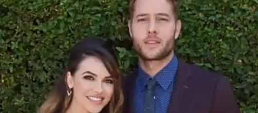 Justin Hartley and Chrishell Stause are married [Image: USA News & More/YouTube screenshot]