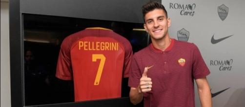 """Lorenzo Pellegrini, alla presentazione con la """"sua"""" Roma"""