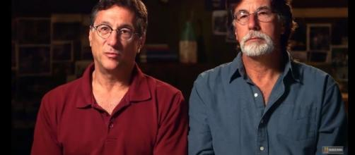 Marty and Rick Lagina will never stop until they find something on the island. [Image via History/YouTube screencap]