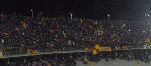 Si attendono circa 10.000 spettatori per Lecce- Cosenza. Foto Salento Giallorosso.