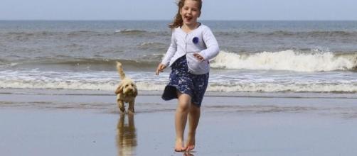 Studi recenti dimostrano che un cane migliora la salute del bambino