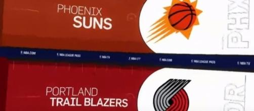 The Portland Trail Blazers hosted the Phoenix Suns on October 28. -- YouTube screen capture /