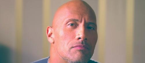 The Rock apparently thinks he's fit for president. [Image via The Rock/YouTube screencap]