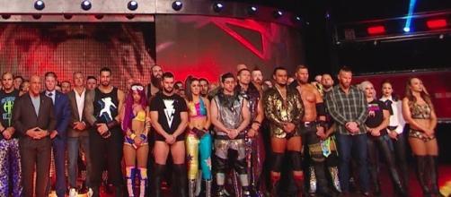 Three WWE superstars were released by WWE on Sunday. [Image via WWE/YouTube screencap]