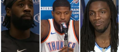 West talents like DeAndre Jordan, Paul George and Kenneth Faried could go to the East. – [image credit: Ximo Preito-NBA/YouTube]
