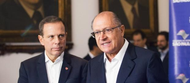 Enquanto apoiam Alckmin, rejeitam Doria