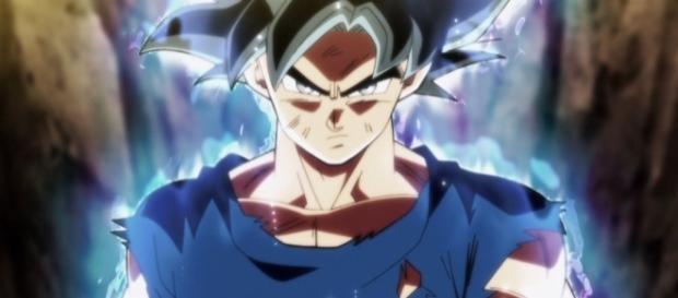 Goku utilizza nuovamente l'ultra istinto