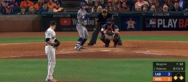 Joc Pederson becomes a World Series hero. -- YouTube screen capture / FOX Sports