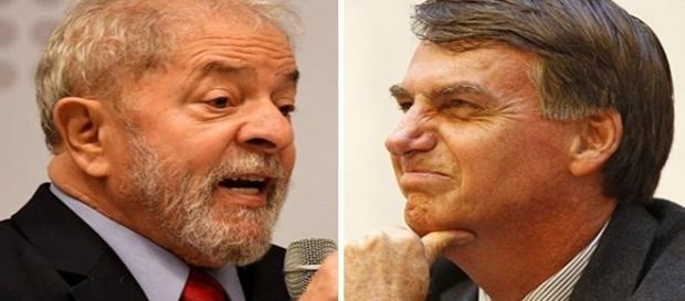 Lula e Jair Bolsonaro surgem como os favoritos para a Presidência República