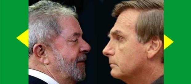 Pesquisa aponta Lula e Bolsonaro como favoritos a ocupar o cargo de presidente do Brasil