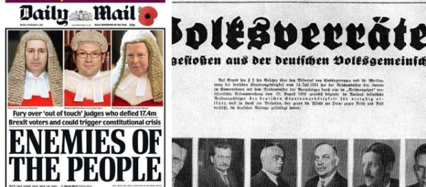 "The Daily Mail, ""enemies of the people"", and a Nazi newspaper ... - fullfact.org"