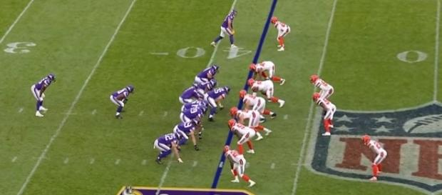 The Minnesota Vikings played the Cleveland Browns in London on October 29. -- YouTube screen capture / NFL