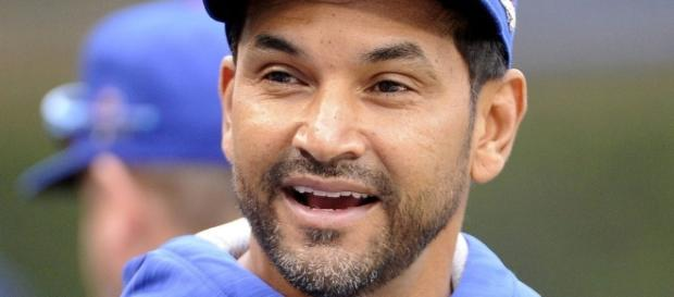 What do we know about the man behind the scenes, Dave Martinez ...[Image via Talknats/YouTube]