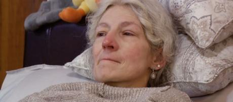Ami Brown too ill after second chemo. Image by YouTube/Discovery Channel