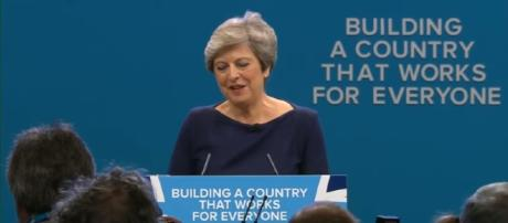 Theresa May's 'extraordinary' conference speech - BBC Newsnight| YouTube