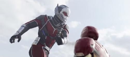 Airport Battle / Ant-Man Becomes Giant-Man | Captain America Civil War (2016) IMAX Movie Clip - (Image Credit: Filmic Box/Youtube)