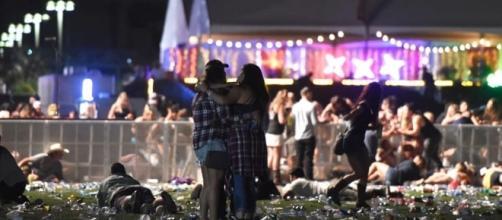 Alcune delle persone presenti alla strage di Las Vegas