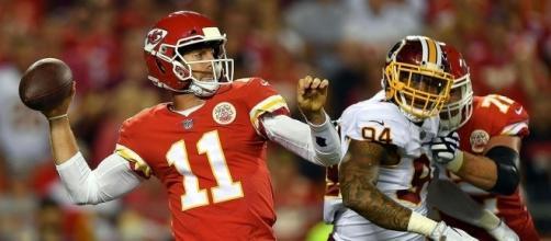 Alex Smith, ha sido el QB más consistente en la NFL, en las primeras 4 semanas. SI.com.