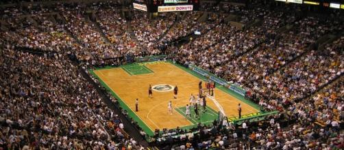 Boston Celtics vs Miami Heat - ReneS via Wikimedia Commons