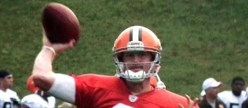 Brandon Weeden was selected 22nd overall by the Cleveland Browns in the 2012 NFL Draft -- Erik Drost via WikiCommons