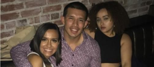 Briana DeJesus spends time with Javi Marroquin and her sister. [Image Credit: Javi Marroquin/Instagram]