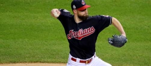 Corey Kluber has now been named American League Pitcher of the Month in three of the past four months. Image Source: Wikimedia Commons
