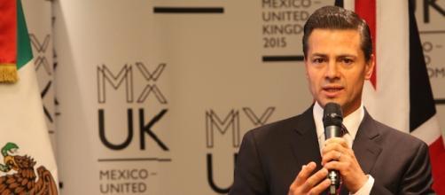 El presidente mexicano Enrique Peña Nieto manifestó solidaridad con los damnificados