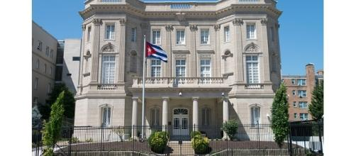 Embassy of the Republic of Cuba in Washington, D.C photo by Difference engine   [Image from Wikipedia CC BY-SA 4.0]