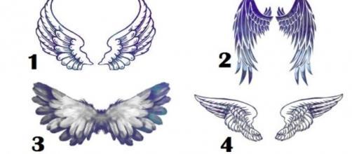 Escolha um par de asas e conheça seu anjo protetor