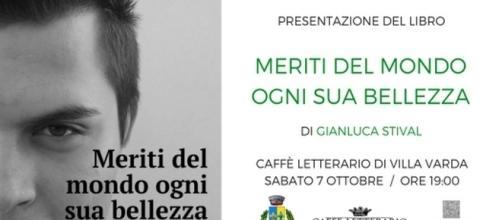 Gianluca Stival, presentazione del suo libro, 7 ottobre *da Gianluca Stival wordpress