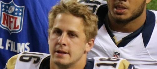 Jared Goff compares well to other young passers. (Image Credit: Jeffrey Beall/Wikimedia Commons)