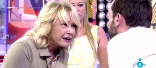 Jesús Manuel desata la ira de Mila Ximenez en 'Sálvame' y ella lo ... - libertaddigital.com