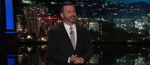 Jimmy Kimmel gives emotional speech after Las Vegas shooting. (Image Credit: Adrian Frant/YouTube)
