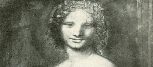 Los expertos buscan la mano de Leonardo Da Vinci en este carboncillo