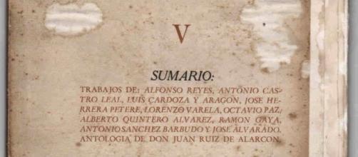 Portada del Número V de Taller bajo la Dirección de Octavio Paz. (Vía Google-Imágenes).
