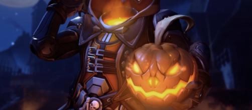 Reaper in the 'Overwatch' Halloween Terror 2016. (image source: YouTube/ShinSaikan)