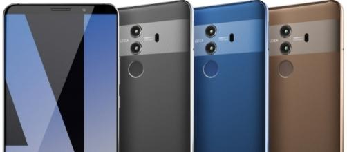 Renders of the Mate 10 Pro have leaked online/Image Credit: Evan Blass/Twitter