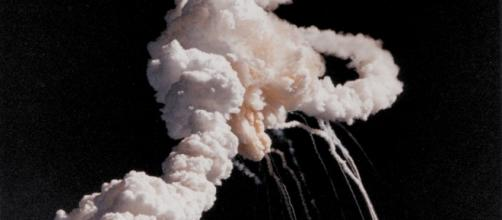 The Challenger Explosion | credit, NASA on The Commons, flickr.com