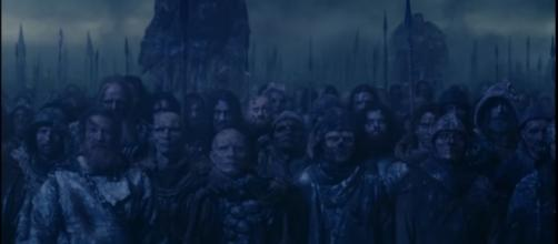 """The White Walkers march for the North in """"Game of Thrones"""" Season 8. (Photo:YouTube/Ravenbreath)"""