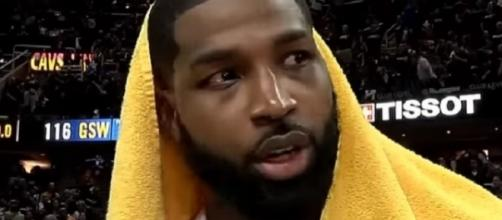 Tristan Thompson started 316 of 466 outings in his six years with the Cavaliers [Image via NBALife/YouTube]
