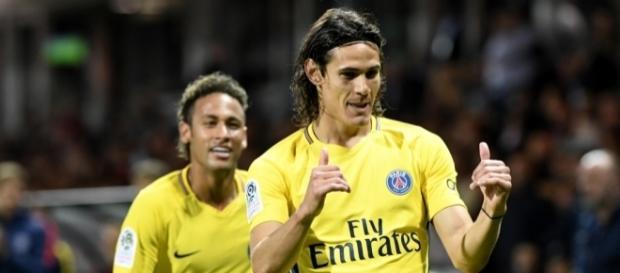 Cavani et Neymar tout va bien !