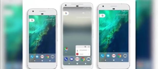 Google Pixel XL 2 final design leaked ahead of launch----Image credit: Krystal Key/Youtube screenshot