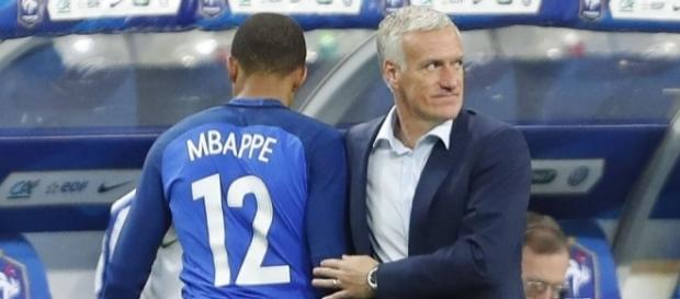 L'entraîneur français a parlé de Kylian Mbappé