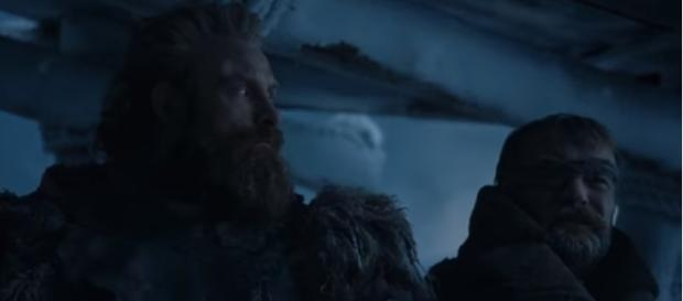 Night King and Viserion arrive at The Wall - Beric and Tormund - Game of Thrones Season 7   Ben Quincy-Shaw/YouTube Screenshot